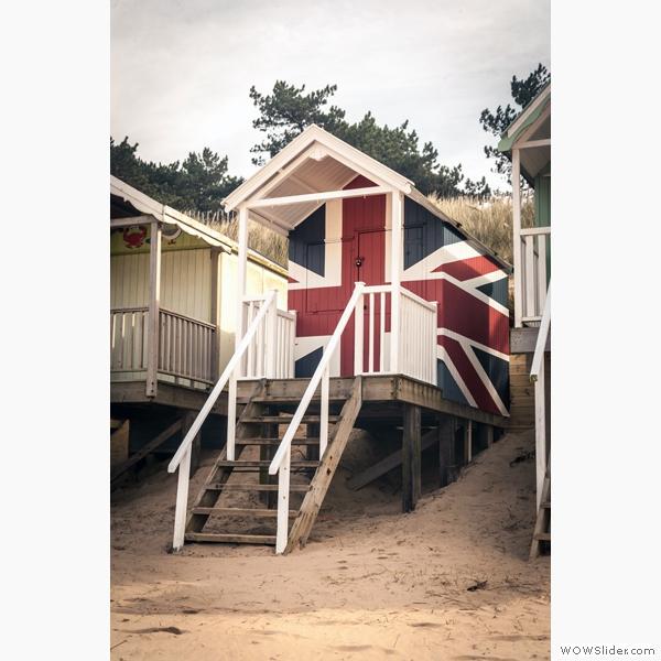 Union Jack Beach Hut, Wells-Next-The-Sea